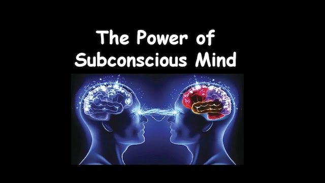 Subconscious Mindset