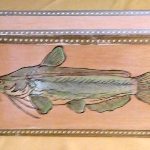 Catfish Vintage Cigar Box