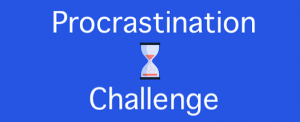 Procrastination Challenge