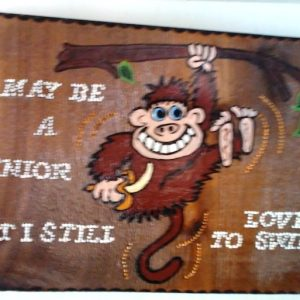 Swinging Monkey Wall decor