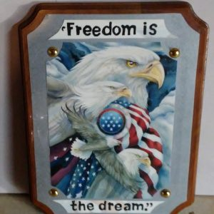 Freedom Is The Dream Wall Art