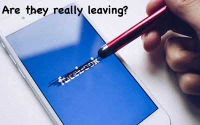 """Is """"Everyone"""" Leaving Twitter and Facebook?"""