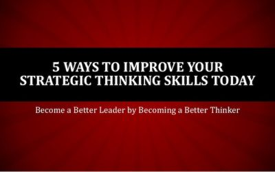 5 Questions to Clarify Strategic Thinking